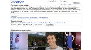 Avec 4 millions de visites mensuelles, le site jecontacte.com est 250e au classement des sites internet les plus fréquentés de France.